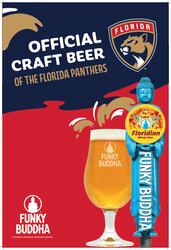 Funky Buddha - Panthers - FL Draft - Large Poster