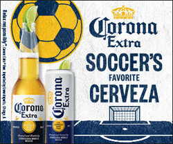 2021 Corona Extra Soccer Flow eComm - Rectangle - No CTA - 320 x 250 - Online use only – not for print