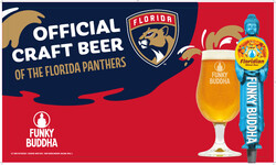 Funky Buddha - Panthers - FL Draft - Banner Stand