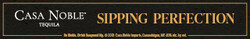 Casa Noble Sipping Perfection Digital Banner - No CTA – 320x50 - For Online Use Only - Not for print or paid media