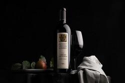 Mount Veeder Winery 2018 Cabernet Sauvignon Hero Image - Pour, Props