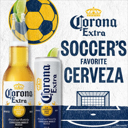 2021 Corona Extra Soccer Flow - Square Post - Social Asset - Online use only – not for print