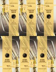 2019 Robert Mondavi Private Selection Buttery Chardonnay 1.5L Shelf Talker 2021 San Diego Wine & Spirits Challenge 90 Points Gold Medal