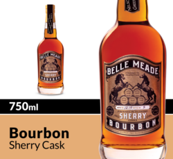 Belle Meade Bourbon Sherry Cask Whiskey 750ml Bottle COPHI