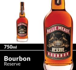 Belle Meade Bourbon Reserve Whiskey 750ml Bottle COPHI
