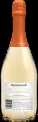 Woodbridge Sparkling Infusions Sweet Peach 750ml Back Bottle Shot