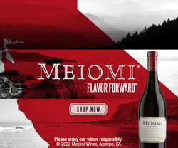 Meiomi Pinot Noir Flow FY23 Rectangle Digital Banner - Shop Now CTA - 300x250 - For Online Use Only, Not for print or paid media
