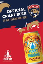 Funky Buddha - Florida Panthers - GT - Large Poster