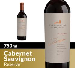 Robert Mondavi Winery 2017 Cabernet Sauvignon Reserve 750ml Bottle