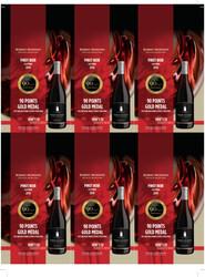 Robert Mondavi Private Selection 2019 Pinot Noir Holiday FY22 2021 San Diego Wine & Spirits Challenge 90 Points Gold Medal 6 Up Shelf Talker