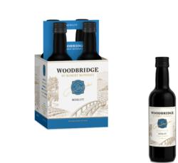 Woodbridge Merlot FY22 187ml Plastic Bottle 4 pk COPHI - No Text