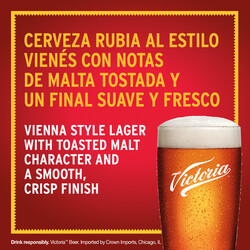 Victoria Lager Bilingual PDP Image - Tasting Note