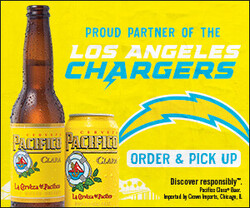 2021 Pacifico LA Chargers - eComm - Rectangle - Order & Pickup CTA - 300 x 250 - Online use only – not for print