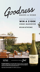 SIMI Sonoma County Chardonnay Summer Sweeps Summer FY22 Instagram Story Digital Banner - No CTA - 9x16 - Online Use Only, Not for print