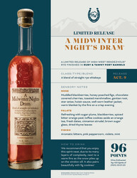 High West Distillery A Midwinter Nights Dram Wine Enthusiast 96 Points NSRP Tasting Note