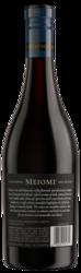 Meiomi Red Blend 750ml Back Bottle Shot