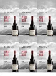 Meiomi Pinot Noir Holiday FY22 6 Up Shelf Talker