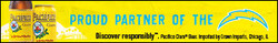 2021 Pacifico LA Chargers - eComm - Banner - No CTA - 320 x 50 - Online use only – not for print