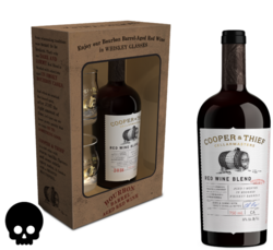 Cooper and Thief BBA Red Blend Gift Set 750ml Bottle Halloween No Text Icon COPHI - Temporary Image