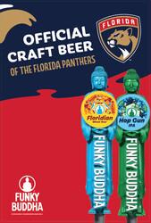 Funky Buddha - Panthers - HG FL Draft - Large Poster