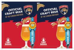 Funky Buddha - Panthers - FL Draft - Menu Wood