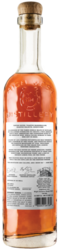 High West High Country American Single Malt 750ml Back Bottle Shot - Light Background