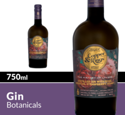 Copper & Kings The History of Lovers Distilled Gin 750 mL Bottle COPHI