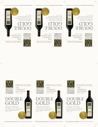 2018 Mount Veeder Winery Cabernet Sauvignon Shelf Talker San Francisco Chronicle Wine Competition 2021 Double Gold
