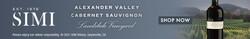 2018 SIMI Alexander Valley Landslide Cabernet Sauvignon Summer FY22 Digital Banner - Shop Now CTA - 320x50 - Online Use Only, Not for print