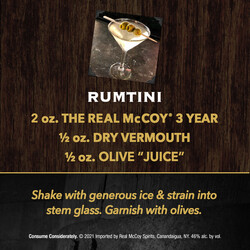 The Real McCoy 3Yr PDP Image - Recipe