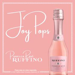 Ruffino Prosecco Rose 187ml 3-Pack Bottles EdPi Image - Brand