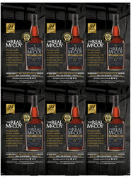 The Real McCoy Aged 12 Years Holiday FY22 Wine Enthusiast 94 Points 6 Up Shelf Talker