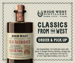 High West BFC Rectangle Digital Banner - Order & Pickup CTA – 300x250 - For Online Use Only - Not for print or paid media