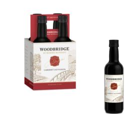 Woodbridge Cabernet Sauvignon FY22 187ml Plastic Bottle 4 pk COPHI - No Text