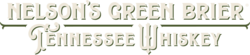 Nelson's Green Brier Tennessee Whiskey Logo - Horizontal, Light, 2 Color, Limited Distribution – Please confirm availability