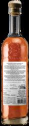 High West High Country American Single Malt 750ml Back Bottle Shot - Dark Background