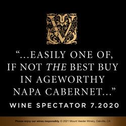 Mount Veeder Winery Napa Valley Cabernet Sauvignon EdPi Image - Awards