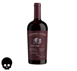 Cooper and Thief Brandy Barrel Aged Pinot Noir 750ml Bottle Halloween No Text Icon COPHI - Temporary Image