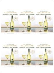 Kim Crawford Illuminate 2020 Sauvignon Blanc Holiday FY22 6 Up Shelf Talker