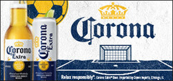 2021 Corona Extra Soccer Flow eComm - Large Banner - No CTA - 320 x 150 - Online use only – not for print