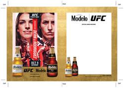 Modelo UFC Fight Night- Dern Vs Rodriguez Bottle Wood Insert Template