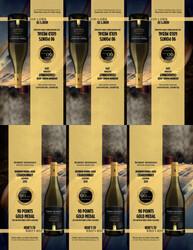 2019 Robert Mondavi Private Selection BBA Chardonnay Shelf Talker 2021 San Diego Wine & Spirits Challenge 90 Points Gold Medal