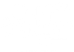 Copper & Kings Stacked Logo - White