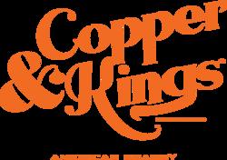 Copper & Kings Stacked Logo - Orange
