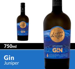 Copper & Kings The Moons of Juniper Gin 750 mL Bottle COPHI