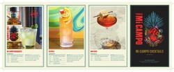 Mi Campo Tequila Blanco Reposado Cocktails Summer FY22 Large Brochure
