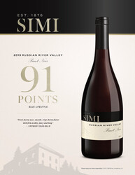 SIMI 2019 Russian River Valley Pinot Noir Reserve Hot Sheet Anthony Dias Blue Blue Lifestyle 91 Points