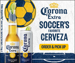 2021 Corona Extra Soccer Flow eComm - Rectangle - Order Pick Up CTA - 320 x 250 - Online use only – not for print
