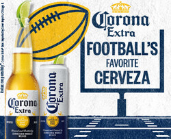 2021 Corona Extra Football Flow eComm - Large Rectangle - No CTA - 382 x 310 - Online use only – not for print