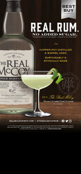 The Real McCoy 3 Year Rum Spring FY22 Custom Case Card